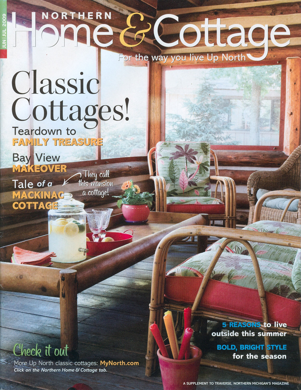 Jon sarkesian architecture publications northern home Home and cottage magazine